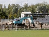 Aanleg nieuw voetbalveld Emma gestart Dordrecht