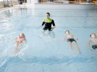 Eindelijk weer zwemles Sportboulevard Dordrecht