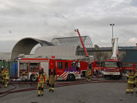 20171608 Enorme rookontwikkeling bij brand in recyclingbedrijf Dordrecht tstolk 001
