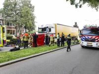 Ernstig ongeluk fietsster op rotonde Pieter Zeemanstraat Zwijndrecht