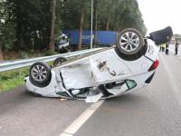 Ernstig ongeluk op A16