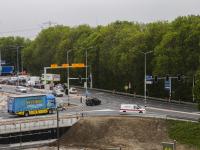 Nieuwe verkeerssituatie Afrit A16 Rijksstraatweg Dordrecht