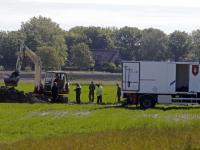 Amerikaanse vliegtuigbommen uit WOII gevonden Oude Beerpoldersekade Dordrecht
