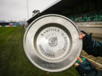 FC Dordrecht levert kampioensschaal in voor tentoonstelling I ♥ Dordt