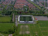Luchtfoto Stadion FC Dordrecht