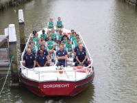 Selectie FC Dordrecht presenteert zich aan de pers
