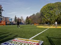 Vernieuwd Cruyff Court al in gebruik