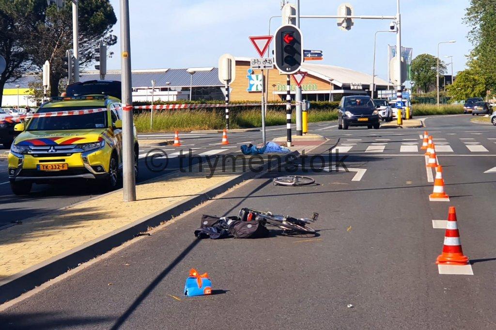Fietser ernstig gewond bij ongeluk