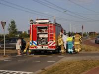 Fietser ter water geraakt Noordkil Papendrecht