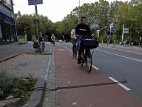 Auto- en fietsverkeer in Drechtsteden in kaart Reeweg Oost Dordrecht