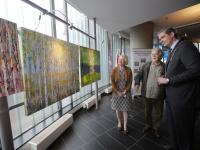 Finse Ambassadeur opent tentoonstelling Stadskantoor Dordrecht