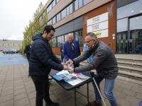 Estafette langs sociale werkbedrijven in Zuid-Holland voor nieuwe cao Drechtwerk Dordrecht
