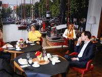 Lucille Werner bezoekt De Merwelanden in Dordrecht