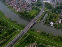 Luchtfoto's Randweg N3 Dordrecht