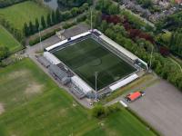 Luchtfoto FC Dordrecht stadion Dordrecht