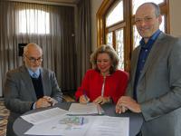 Intentieovereenkomst Gemiva-SVG Groep en Duurzaamheidscentrum Weizigt