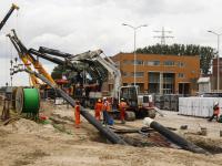 HVC Warmte net sluit aan bij Dordtse Poorten Dordrecht