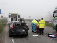 Een gewonde bij ongeluk Rondweg N3