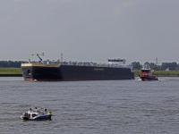 Gezonken vrachtschip wordt maandag geborgen