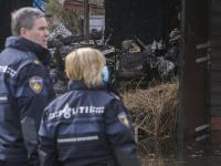 Grote brand verwoest woning Kilweg Dordrecht