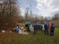 Drugsafval aangetroffen sportpark Amstelwijck