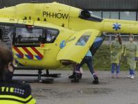 Heli ingezet bij verplaatsing coronapatiënt naar ziekenhuis in Groningen