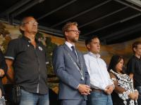 Herdenking slachtoffers bezetting Nederlands - Indië
