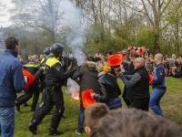 Sponsorloopen demonstaties politie Het Kristal Dordrecht