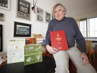 Portret Peter de Roo oud sportjournalist Dordrecht