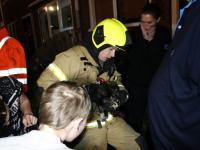Hond komt om het leven bij woningbrand