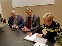 ondertekening overeenkomst aanpak overlast horeca