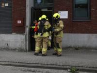 Hulpdiensten oefenen op scenario brand in politiecel