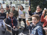 Gratis ijsje bij Verhage Bieshof Dordrecht