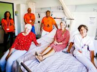 Eerste koppelbed in gebruik genomen Albert Schweitzer ziekenhuis Dordrecht