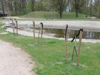 Jonge boompjes gesloopt in Sterrenburgpark Dordrecht