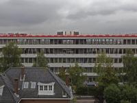 Overzichtsfoto van werkzaamheden aan pand Kilwijkstraat Dordrecht