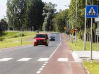 Nieuwe verbindingsweg Admiraal de Ruyterweg open voor verkeer Dordrecht