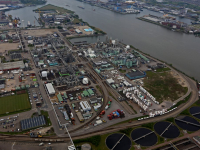 Luchtfoto's Dupont Chemours Dordrecht