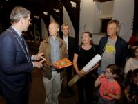 burgemeester neemt burgerinitiatief Bankastraat in ontvangst