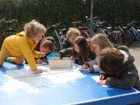 Kleurplaten maken basisschool Vest Blekersdijk Dordrecht