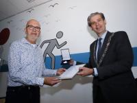 Koninklijke Erepenning uitgereikt aan Fortius Dordrecht