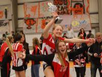 Korfballers van Fortuna/Delta Logistiek C1 Kampioen van Nederland