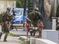 Korps Mariniers oefenen op Dordtse Kil III Spinel Dordrecht