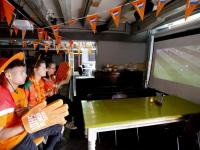 Kroeg merz loopt nog niet vol voor WK-duel Korte Kalkhaven Dordrecht