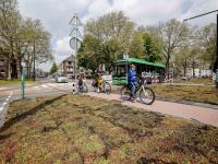 Kruising Singel Stationsweg Johan de Wittstraat aangepast Dordrecht