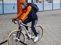 Laatste trainingen en voorbereidingen voor het WK Shorttrack
