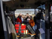 Leerlingen Da Vinci College onder de indruk van LifeLiner 2 Dordrecht