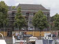 Huis van Gijn in de steigers Dordrecht
