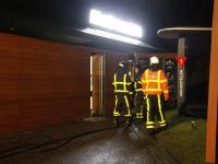 20171101 Schade aan plafond en keuken na brand bij McDonald's Rijksstraatweg Dordrecht Tstolk