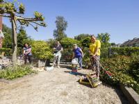 Medewerkers van het Parkhoff zorgen voor een mooie tuin Dordrecht